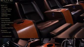 Custom J-1 Black Onyx Silk Leather