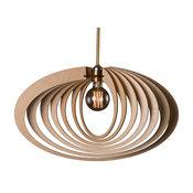 "Saturn ring 1-light pendant 20"" Width Modern light pendant"