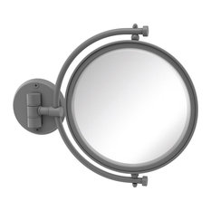 """8"""" Wall Mounted Make-Up Mirror 5X Magnification"""