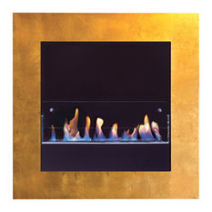 Fuecopared Monte Carlo Fireplace, Undecorated