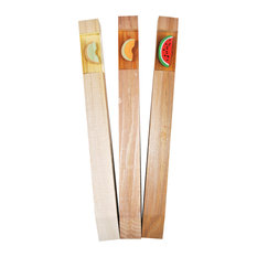 One in a Melon 3-Piece Garden Markers Set