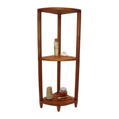 Teak Bath Shelf - From the Corner Collection