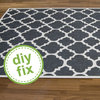 DIY: How to Paint a Sisal Rug