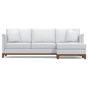 La Brea 2-Piece Sectional Sofa, Stone, Chaise on Right