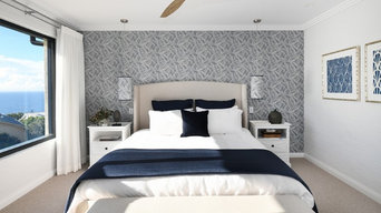 Palm Beach Family Retreat - Master Bed
