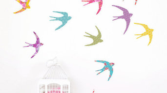 Bird in Flight Wall Stickers - Koko Kids