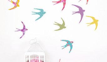Bird in Flight Wall Stickers - Koko Kids
