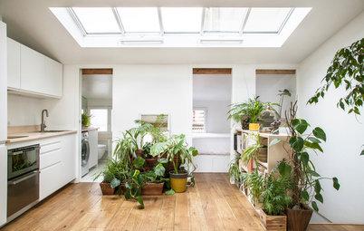 Avant/Après : 30 m² sous les toits optimisés pour un prof de yoga