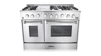 """Thor Kitchen 48"""" Double Oven Gas Range"""