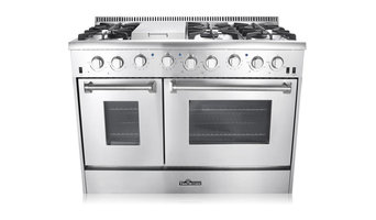 "Thor Kitchen 48"" Double Oven Gas Range"