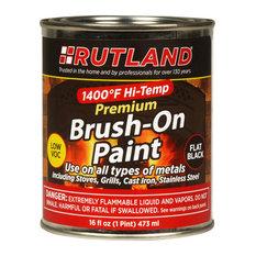 Premium Low VOC 1400 Deg. F Hi-Temp Paint - Brush On