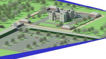 Renovation of Colbeck Castle Park