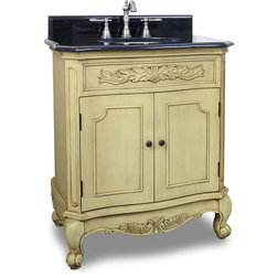 Vintage Traditional Bathroom Vanities And Sink Consoles by New York Hardware Online