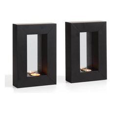 Perfect DANYA B.   Danya B Set Of 2 Mirror Tealight Candle Sconces With Metal Frame