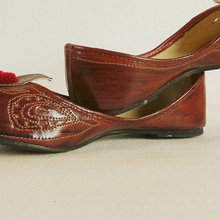 handcrafted mojri Rajasthani footwear ready in stock