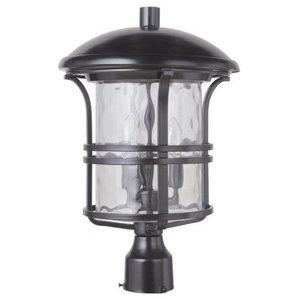Craftmade Lighting Courtyard - Three Light Large Outdoor Post Lantern