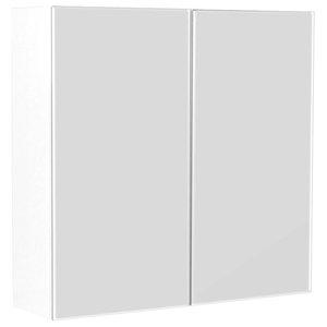 Emotion Basic Mirror Cabinet, Medium, White High-Gloss