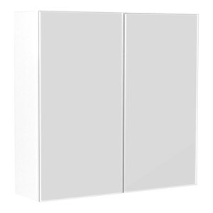 Emotion Basic Mirror Cabinet, Small, White High-Gloss