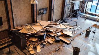 CRAFT Beer Market Edmonton Renovation Debris Removal