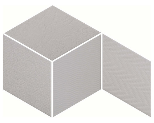 Rhombus Light Grey - Wall & Floor Tiles