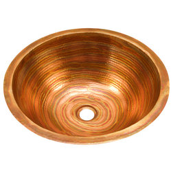 Superb Rustic Bathroom Sinks by Artesano Copper Sinks