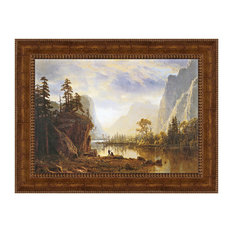 """Yosemite Valley 1863"" Stretched Canvas Replica, 38""x29"""