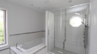 After - bathtub and shower