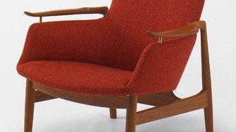 FJ-01 イージーチェア/1人掛けソファ/安楽椅子 (フィン・ユール 1953)