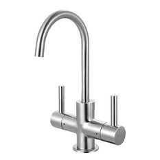 Franke Steel Hot and Filtered Cold Water Faucet, Stainless