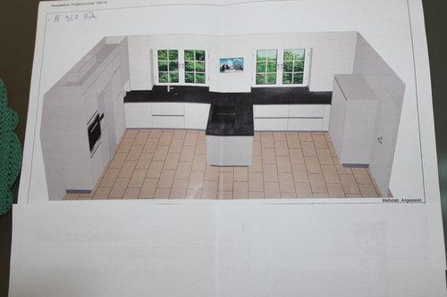Küchenstudio plan  Küchenplanung, einfach Horror