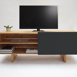 Transitional Entertainment Centers And Tv Stands by MASHstudios