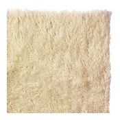 Genuine Eco Friendly Wool Flokati Shag Rug Natural 8' X 10'