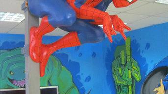 скульптура человек паук
