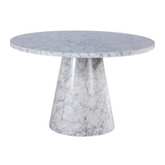 """Omni Faux Marble 48"""" Round Dining Table"""