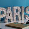 DIY : Recyclez un plan urbain en souvenir de voyage ultra déco