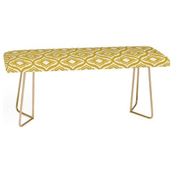 Mediterranean Upholstered Benches by Deny Designs