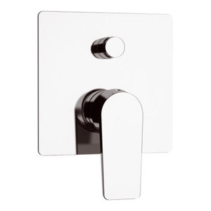 Dream Chrome Plated Built-In 2-Outlet Bath Mixer Tap