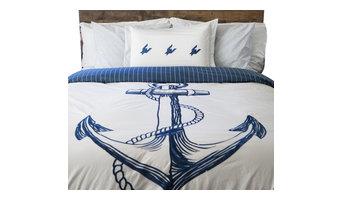 Ahoy Comforter, Full/Queen