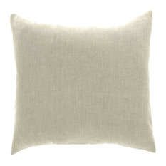"Lino Natural Pillow Cover 20""x20"" 100% Pure Linen"