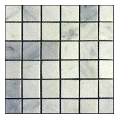"Polished Tile, Arabescato Carrara, 30 Sq. ft., 2""x2"""