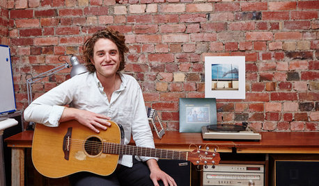 Creatives at Home: Matt Walters in His Music Room