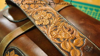 Rifle leather case