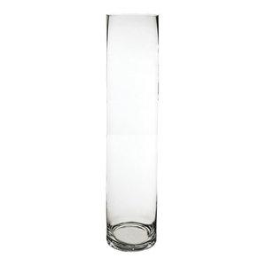 """Glass Cylinder Vase, 40"""""""