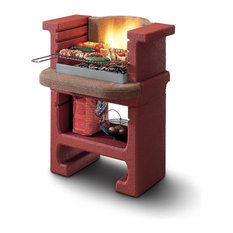 LaToscana Bajkal Charcoal Grill/Fireplace Adjustable In 3 Heights