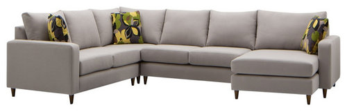 Charming Baxter Modular Lounge With Chaise   Sectional Sofas