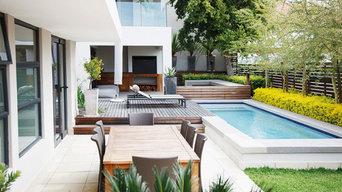 Pool Decking & Landscaping