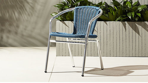 Anyone have any experience with these CB2 outdoor dining chairs? - CB2 Outdoor Chairs