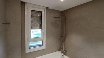 Baños Micro cemento Reformas