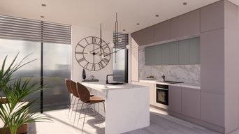 Idyllically warm & airy kitchen design