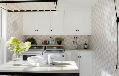 New This Week: 7 Stylish and Hardworking Laundry Rooms